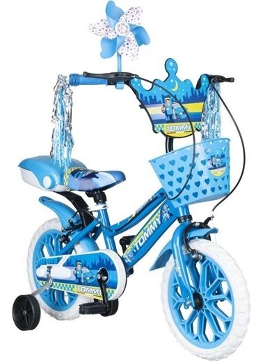 Tommy Baby 15 Jant Çocuk Bisiklet 4-5-6 Yaş Mavi